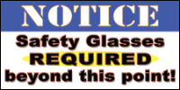 safety banners product number 1045