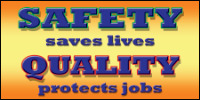 safety banners product number 1055