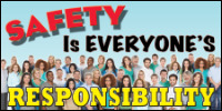 safety banners product number 1163