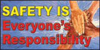 safety banners product number 1436
