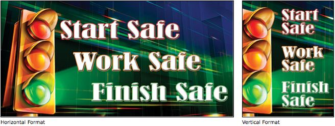 Start Work Safely workplace safety banner image