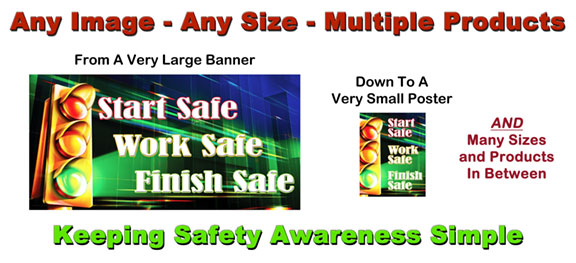 Keeping it simple safety banners made easy